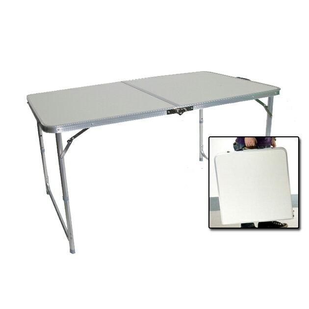 【悅.生活】Trackman_手提式鋁合金折疊桌