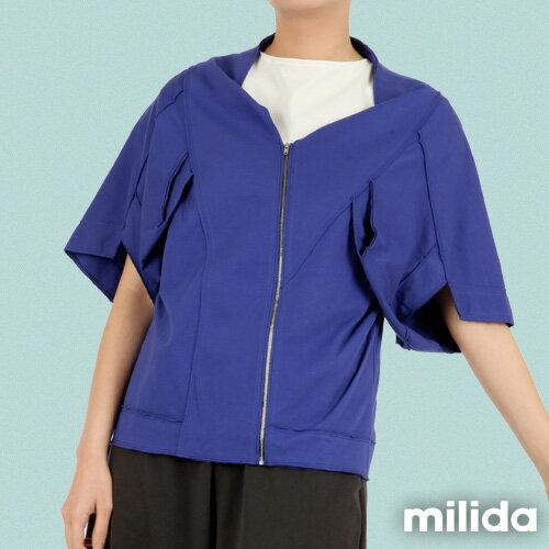 【Milida,全店七折免運】-早春商品-外套款-五分袖短版設計 7