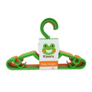 ★衛立兒生活館★哈皮蛙Kaeru 嬰幼兒衣架組-六入