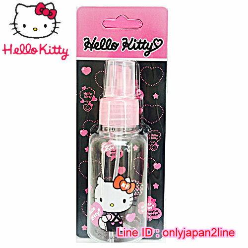 【真愛日本】16101900015噴霧瓶75ML-KT抱抱桃心   三麗鷗 Hello Kitty 凱蒂貓 收納盒/擠壓瓶/噴霧瓶  旅用組