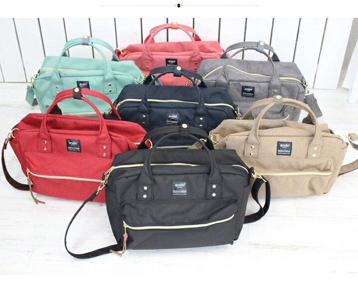日本anello  /  2way / 方型手提肩背兩用背包 / 聚酯纖維 / AT-C1224。共7色-日本必買 日本樂天代購(3500*0.6) 8
