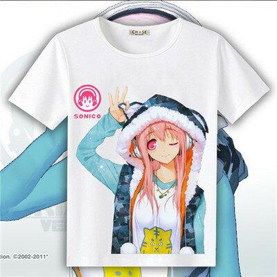 【憶童趣】動漫 超級索尼子 創意 短袖上衣