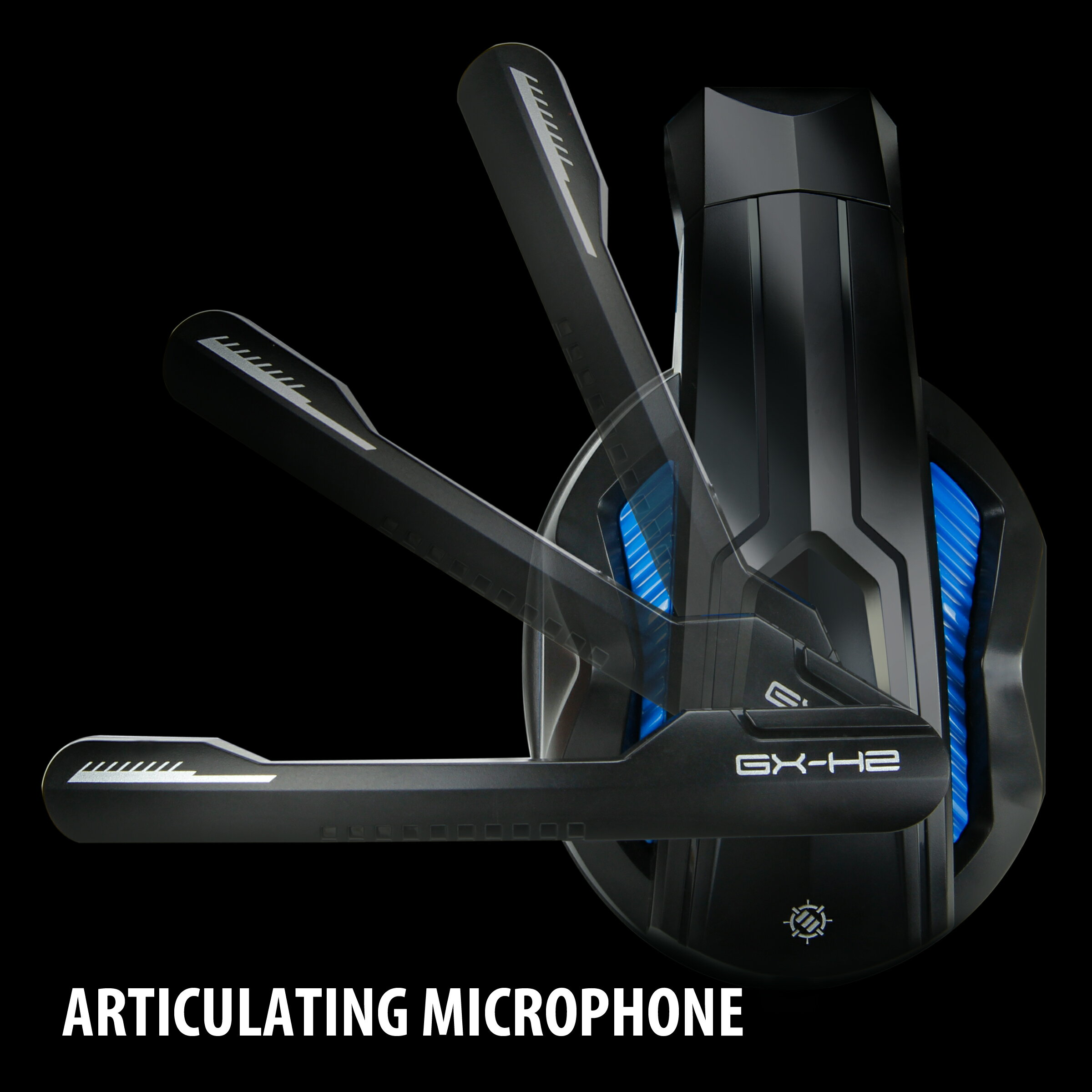 ENHANCE GX-H2 PC Headset with Comfortable Ear Padding and Adjustable Mic Works with Desktops 3