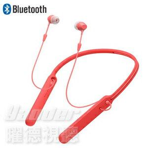 【曜德】SONY WI-C400 糖果紅 無線藍牙入耳式耳機 無線麥克風 ★ 免運 ★ 送收納袋