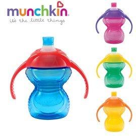 【淘氣寶寶】美國Munchkin貼心鎖鴨嘴防漏練習杯207ml