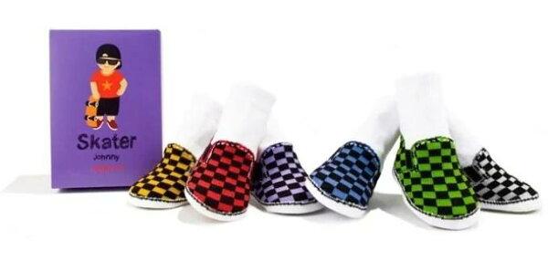 pregshop孕味小舖《美國Trumpette》嬰兒襪子6入-滑板男孩