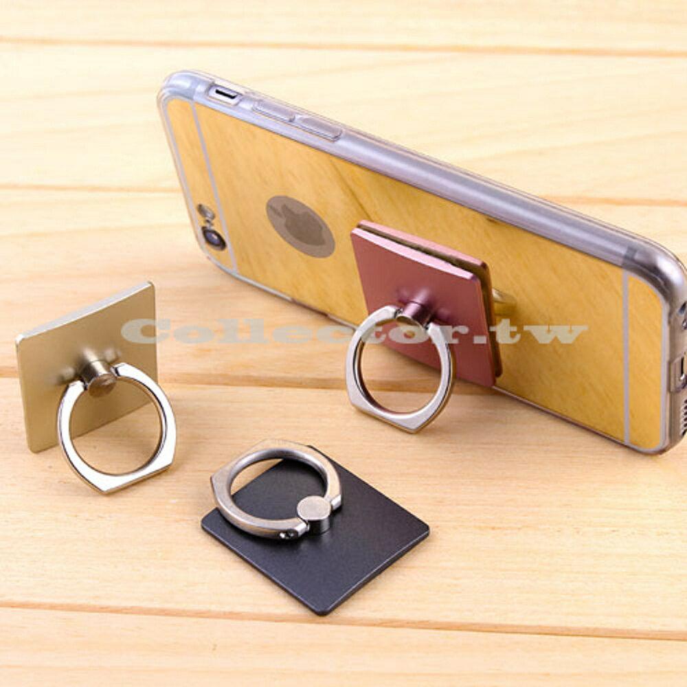 ✤宜家✤金屬指環扣手機支架 懶人防摔防盜可折疊粘貼式支架