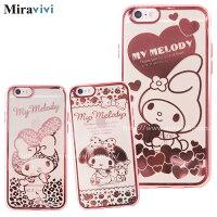 美樂蒂My Melody周邊商品推薦到Sanrio三麗鷗iPhone 6(4.7吋)時尚質感電鍍雷雕保護套-美樂蒂系列