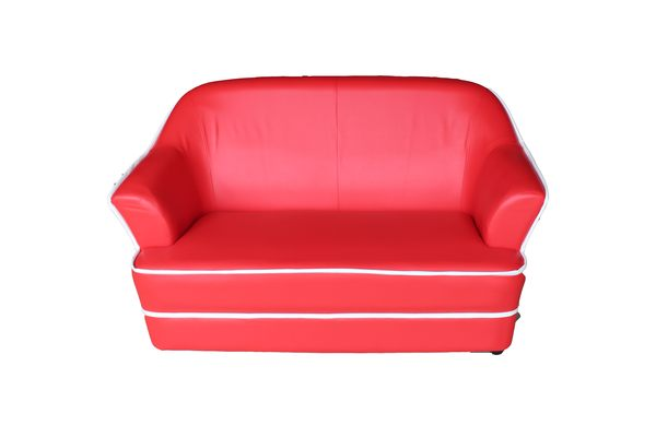 【石川家居 】SA-33 維多紅色兩人沙發可換色 台灣製造 套房出租最愛需搭配車趟