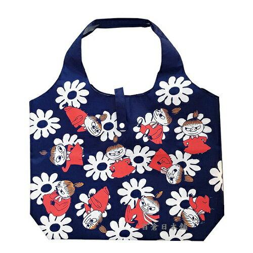 【百倉日本舖】嚕嚕米Moomin環保購物袋-折疊式輕便購物袋