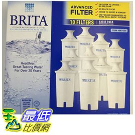 [促銷到 10/14 圓型濾芯] Brita 濾水壺圓形濾心/濾芯 (10入/組和舊款相容)