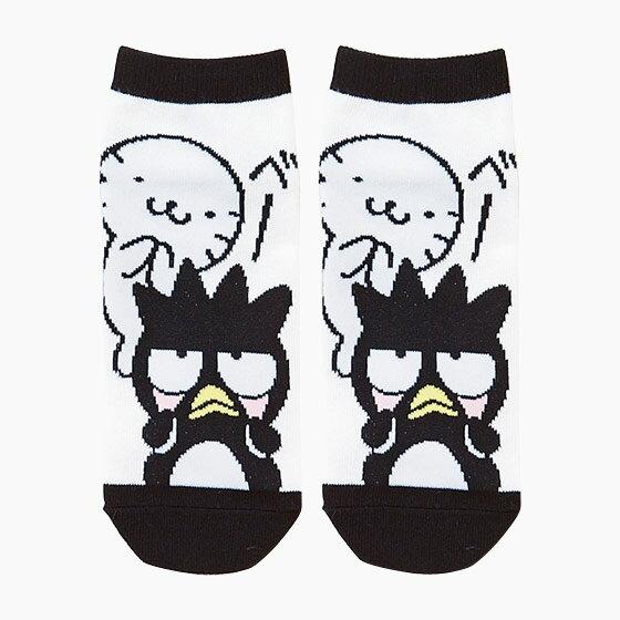 【真愛日本】17053100034 造型成人短襪-XO鬼臉黑+AAQ 三麗鷗 酷企鵝 襪子 日常用品 預