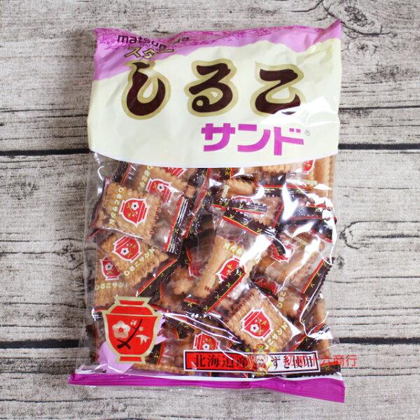 【0216零食會社】日本零食松永_北海道紅豆餅乾230g