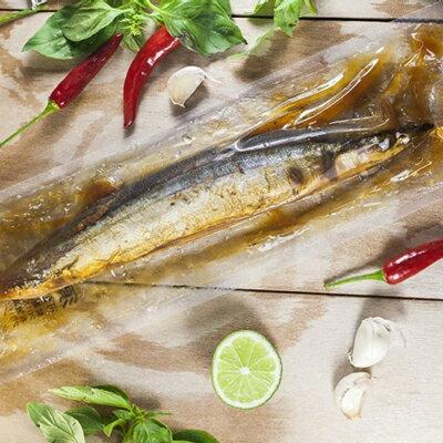 【部落客黃小鴨最愛】化骨秋刀魚(110-150g)~改良自日本甘露煮,退冰即食