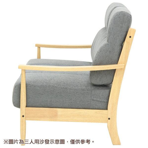◎(OUTLET)布質2人用沙發 HILL2 GY / LBR 福利品 NITORI宜得利家居 2