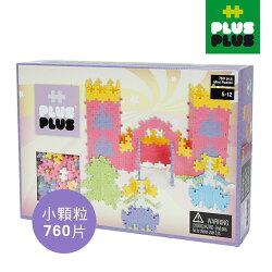 【 ++PLUS-PLUS 加加積木 】MINI 小顆粒-夢幻系列 大城堡 760PCS (盒裝)