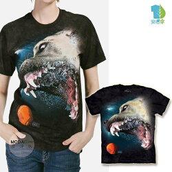 【摩達客】(預購)美國進口The Mountain 水中比特大丹犬混血 純棉環保短袖T恤Underwater Dog