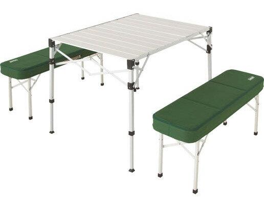 【露營趣】中和 Coleman 野餐桌椅組 蛋捲桌 摺疊桌 折疊椅 休閒桌 休閒椅 CM-0516