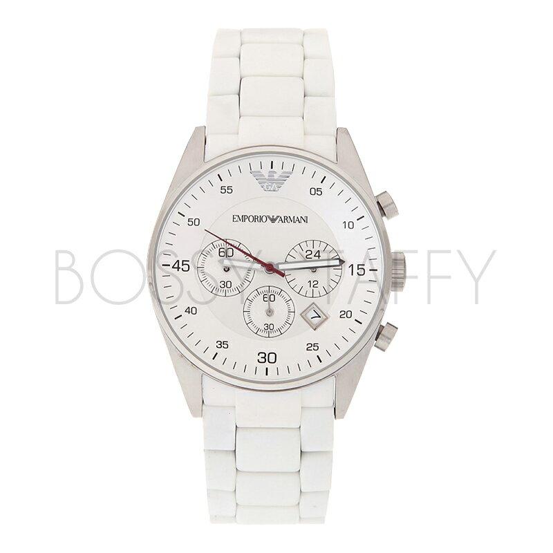 AR5859 AR5867 ARMANI 亞曼尼 時尚三眼石石英錶 情侶對錶