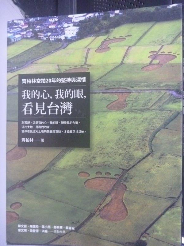 【書寶二手書T3/一般小說_YGQ】我的心,我的眼,看見台灣_齊柏林