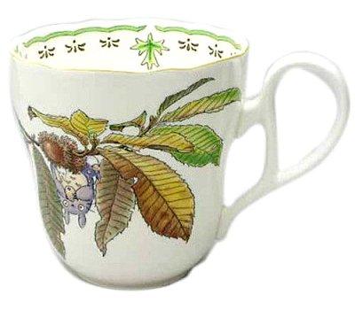 【真愛日本】7121900001  流線瓷馬克杯-倒立吹笛子   龍貓 TOTORO豆豆龍 馬克杯 杯子 水杯 下午茶杯