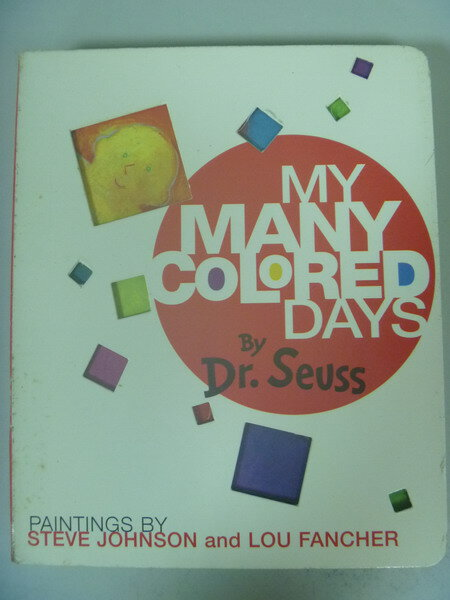 【書寶二手書T2/原文書_ISQ】My Many Colored Days_Seuss, Dr