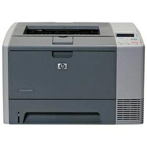 HP LaserJet 2400 2430 Laser Printer - Monochrome - 1200 x 1200 dpi Print - Plain Paper Print - Desktop - 35 ppm Mono Print - Letter, Legal, Executive, Custom Size - 350 sheets Standard Input Capacity - 100000 Duty Cycle - Manual Duplex Print - USB 0