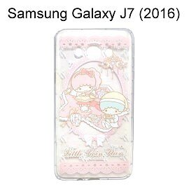 雙子星空壓氣墊軟殼[吊燈]SamsungGalaxyJ7(2016)J710【三麗鷗正版授權】