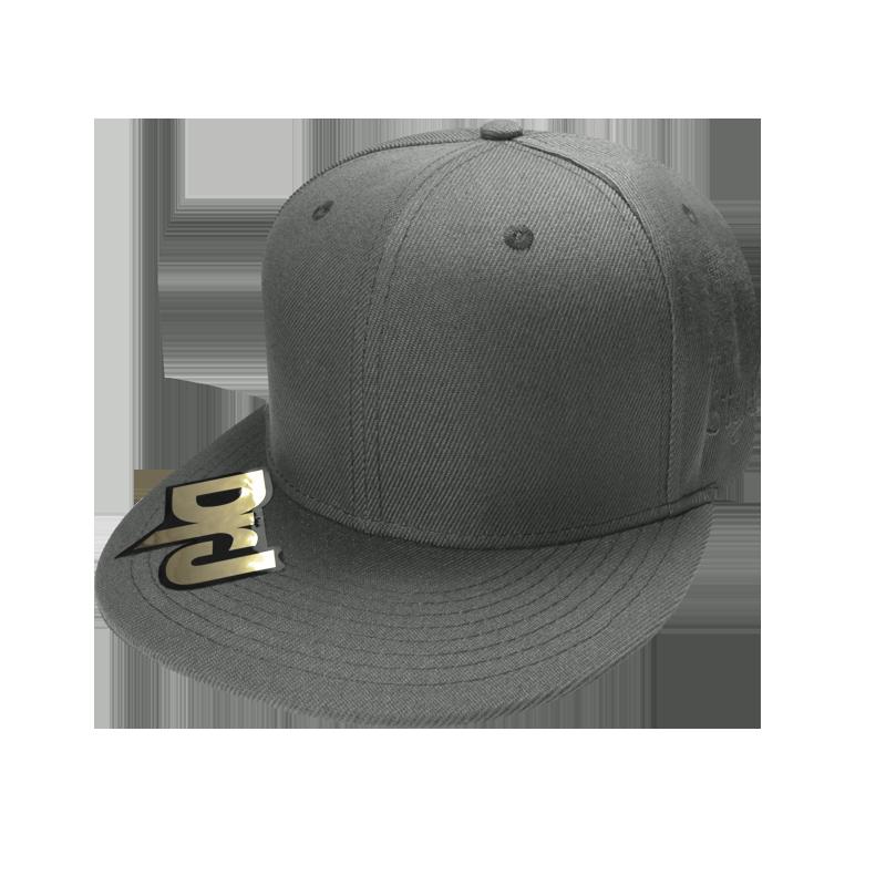 DrJ 素面棒球帽 灰色