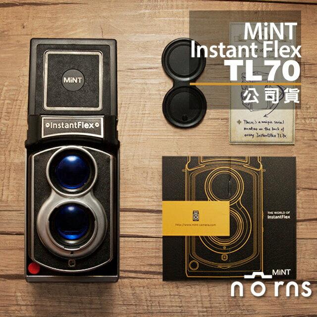 NORNS 【MiNT InstantFlex TL70拍立得相機】instax 雙鏡頭 公司貨 保固一年