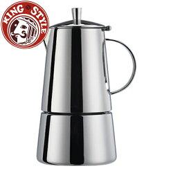 金時代書香咖啡 Tiamo 瑪佳4杯摩卡壺(majesteel)