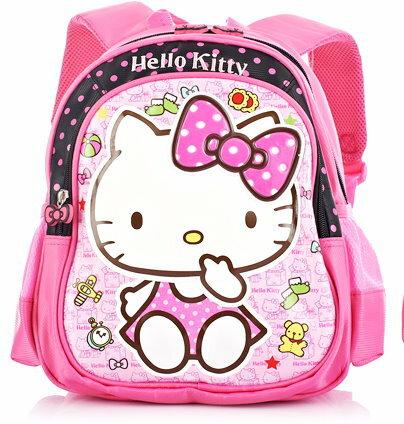 正版 Hello Kitty  凱蒂貓 兒童書包 幼兒園後背包適合2-5歲-HK3162