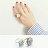 戒指 簡約紋理幾何形氣質戒指【TSJE6375】 BOBI  07/07 0
