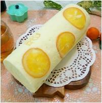 幸運草手作烘焙:季節限定︱橙香蛋糕︱蛋糕捲︱柑橘口味︱