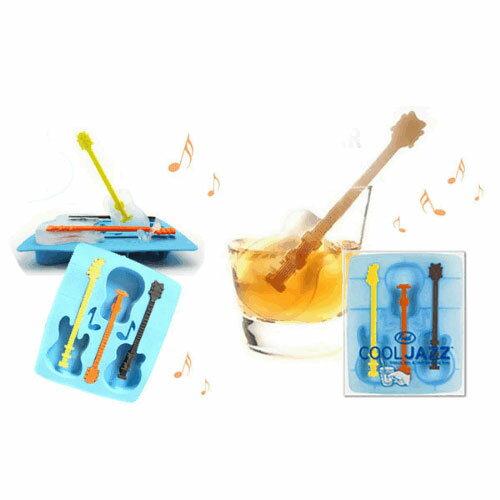 【C13060501】大提琴 吉他 音符 造型攪拌棒 製冰盒/製冰器