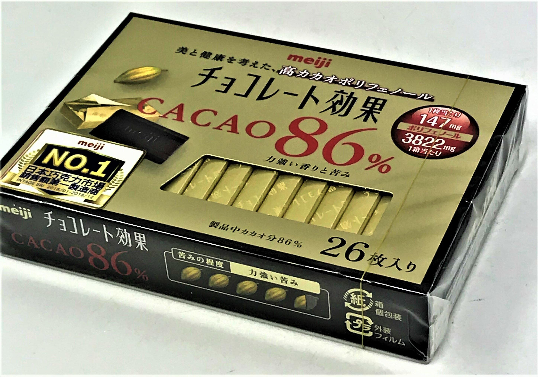 [哈日小丸子]明治CACAO86%黑巧克力(26枚/130g)
