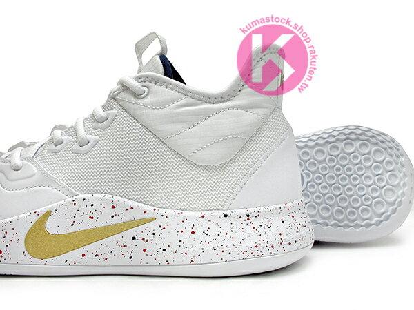 2019 強力登場 全明星球員 Paul George 個人最新簽名鞋款 NIKE PG 3 EP USA 白金 美國隊 前掌 ZOOM AIR 氣墊 籃球鞋 PG3 (AO2608-100) 0619 3