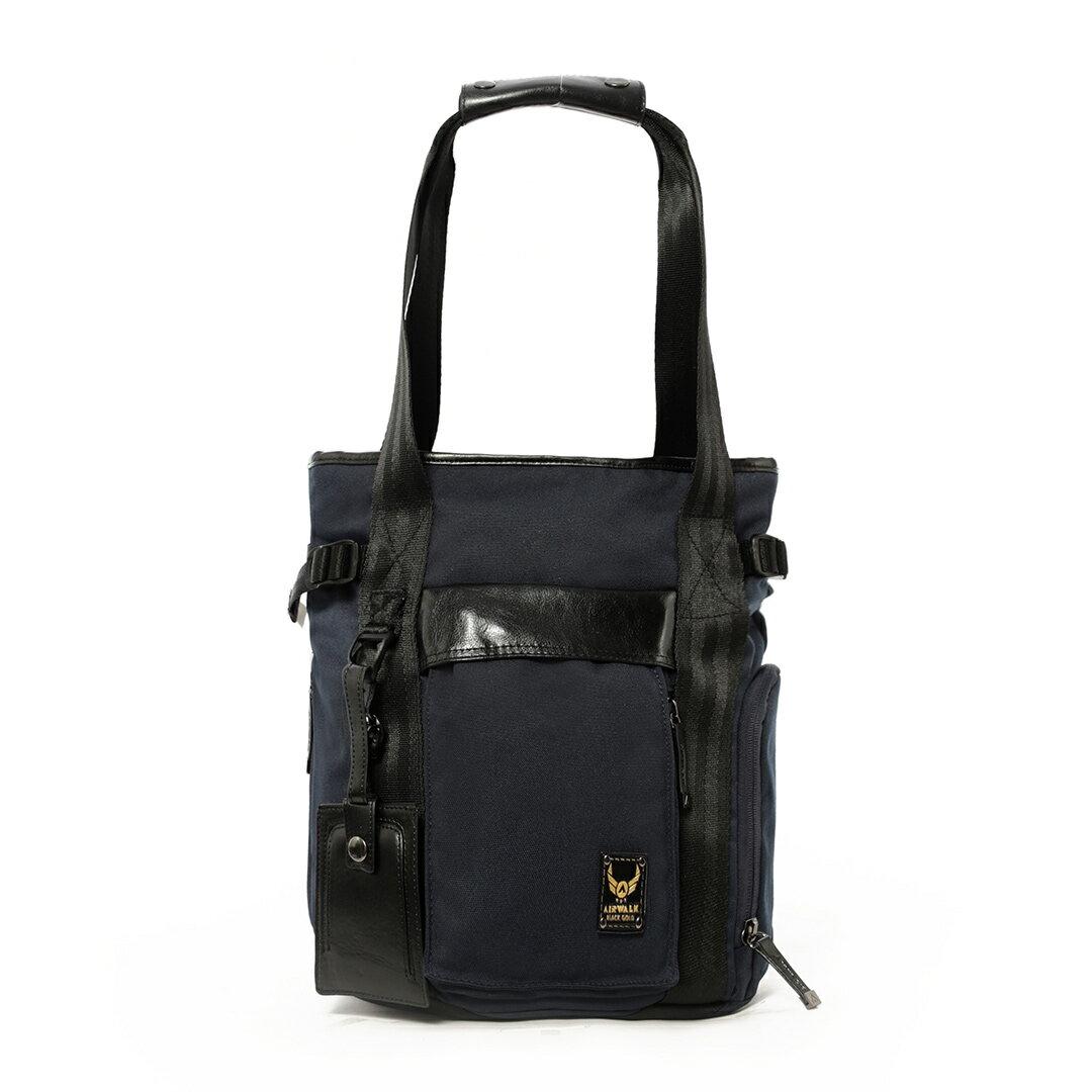 AIRWALK黑金系列-街頭時尚後背包《藍》