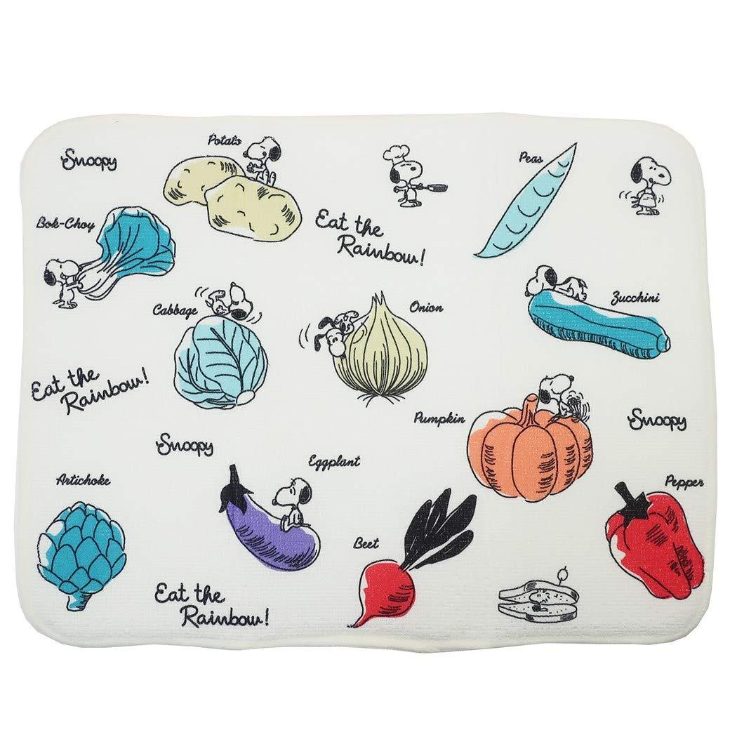 吸水墊 SNOOPY 史努比 蔬菜 料理用具 2款 吸水布巾 日本進口正版授權