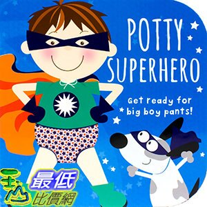 106美國直購  2017美國暢銷兒童書 Potty Superhero: Get re