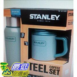 [COSCO代購 如果沒搶到鄭重道歉] Stanley 不鏽鋼真空保溫瓶馬克杯2件組 W661735