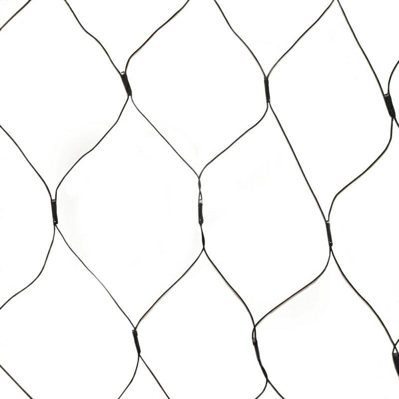 Aleko Products Aleko Sl5804 N150w Solar Powered White 150 Led Net
