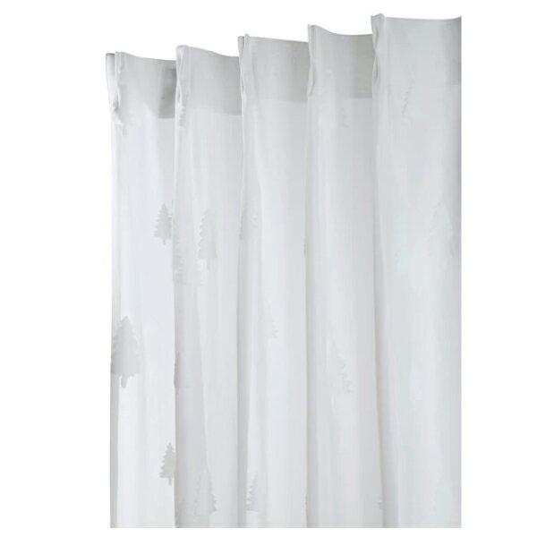 蕾絲窗簾 CHENE 100×138×1 NITORI宜得利家居 4