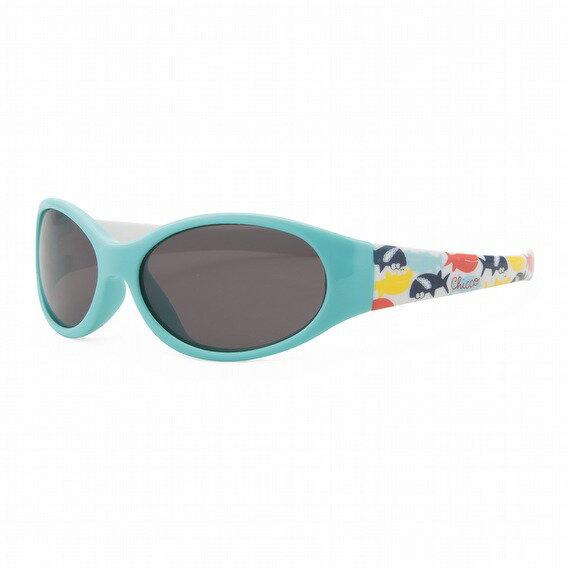 【淘氣寶寶】義大利CHICCO兒童專用太陽眼鏡12m+(悠遊鯊魚藍)