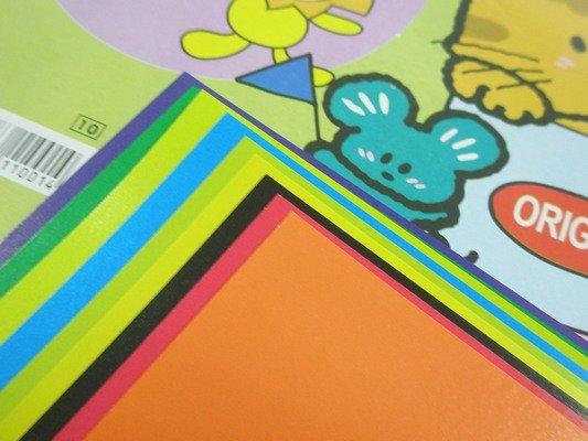 單面蠟光色紙 大張 教學色紙 1019 折紙摺紙色紙17.5cm x 17.5cm/一袋50包入(一包9張入){定10}