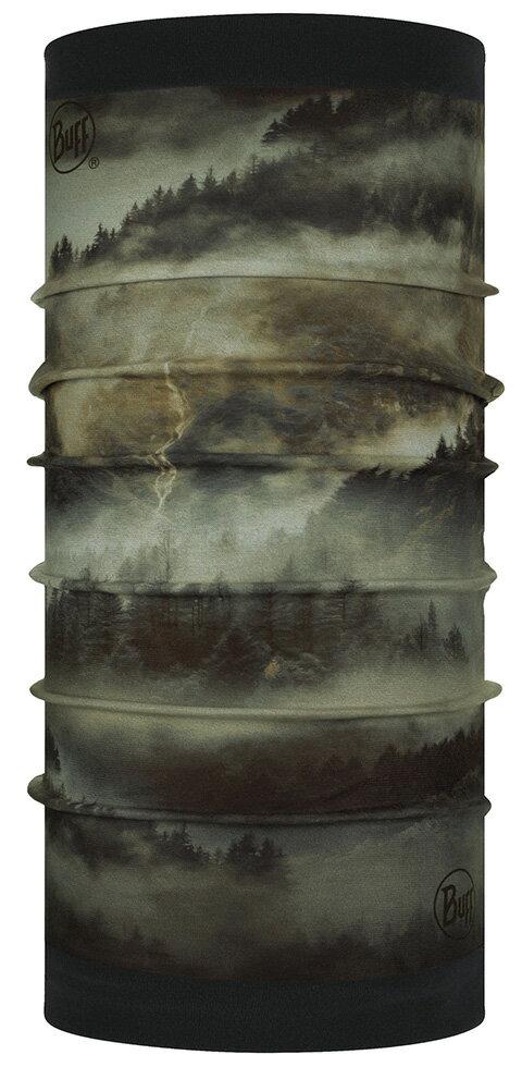 【【蘋果戶外】】BUFF BF123775-854 西班牙 魔術頭巾 POLAR【雙面式】保暖頭巾 卡其噴流 PLUS 圍脖