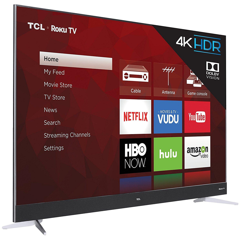 TCL 55C807 55-Inch 4K Ultra HD Roku Smart LED TV (2017 Model) 2