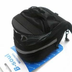 美麗大街【ML106082406】山地自行車尾包座墊包騎行裝備配件可擴展(圓尾包)