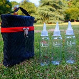 美麗大街【CP105121302】TNR升級大容量 高品質戶外調味瓶 油瓶 醬油瓶 調味罐 收納組 露營 廚房調味 三個尖嘴瓶子組