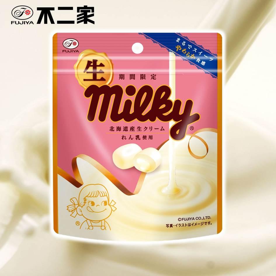 【Fujiya不二家】期間限定 Milky生牛奶軟糖 34g 生ミルキー袋 日本進口零食